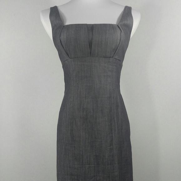 05b4bca854d0 Calvin Klein Dresses   Skirts - Calvin Klein Charcoal Gray Sheath Dress  Size 2